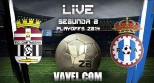 FC Cartagena - Real Avilés CF en directo