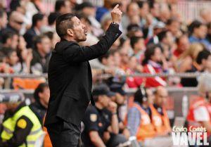 """Simeone: """"Hay que seguir con humildad, cualquier rival es peligroso"""""""