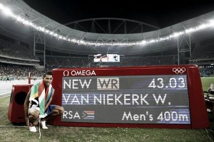 Rio 2016: Wayde Van Niekerk smashes Michael Johnson's World Record en route to 400 meter title