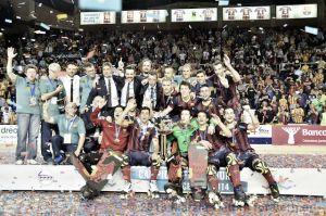 El Barça levanta su vigésima Copa de Europa de hockey patines