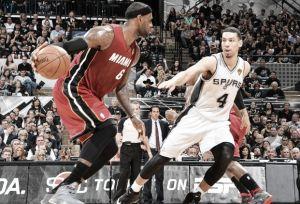 San Antonio Spurs - Miami Heat: LeBron regresa listo para el segundo asalto
