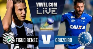 Resultado Figueirense x Cruzeiro no Campeonato Brasileiro 2016 (1-2)