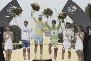 Tour de France 2014 : le palmarès