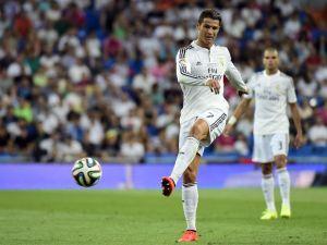 Cristiano Ronaldo, al vestuario con molestias