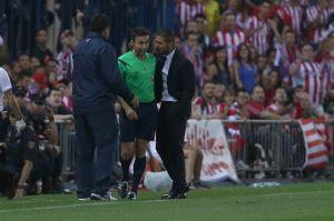 Simeone, sancionado con 8 partidos y 4.805 euros de multa