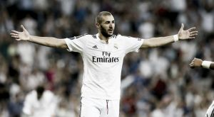 """Benzema: """"Estoy muy contento por haber marcado, pero lo más importante era la victoria"""""""