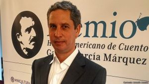 Guillermo Martínez, ganador del I Premio Hispanoamericano de Cuento Gabriel García Márquez