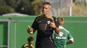 """Fran Escribá: """" El punto ha sido muy merecido"""""""