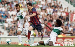 El Martínez Valero, enésimo escenario donde el Barça de Martino se dejó la Liga