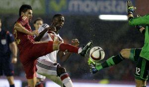 Nolito, titular en su debut con la 'Roja'