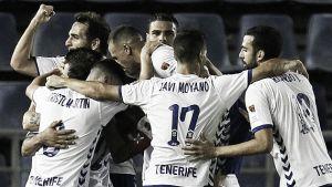 El Tenerife sufre pero coge aire gracias a un gol de Ifrán