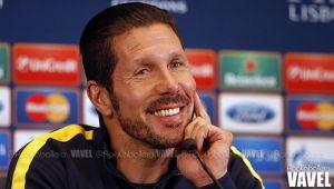 """Simeone: """"Intentamos potenciar todas las herramientas del fútbol"""""""
