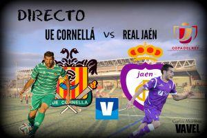 Cornellá - Real Jaén en directo online