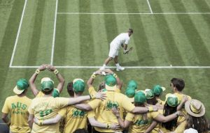 Cara y cruz para el tenis aussie