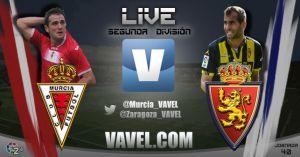 Real Murcia - Real Zaragoza en directo