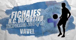 Fichajes del Deportivo de la Coruña temporada 2014/2015 en directo