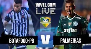 Jogo Botafogo-PB x Palmeiras ao vivo online na Copa do Brasil 2016
