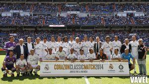 Fotos e imágenes del Real Madrid Leyendas vs Inter Forever en el Corazón Classic Match