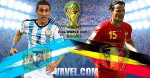 Argentina vs Belgium Live Stream and Scores of FIFA World Cup 2014 Quarter final