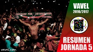 Resumen Jornada 5 Liga NOS: el tricampeón vuelve a su sitio