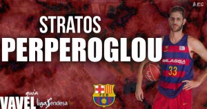 FC Barcelona Lassa 2016/17: Stratos Perperoglou, clase griega en el exterior