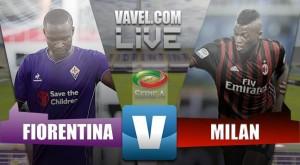 Partita Fiorentina - Milan in Serie A 2016/17 (0-0): reti inviolate al Franchi, rigore non dato nel finale al Milan