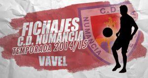 Fichajes del Numancia temporada 2014/2015 en directo