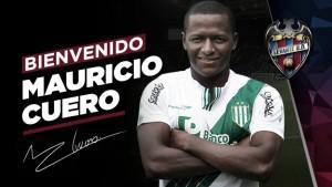 Mauricio Cuero, nuevo jugador del Levante