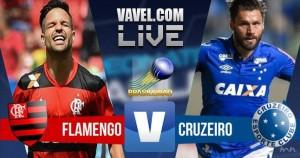 Resultado Flamengo x Cruzeiro no Campeonato Brasileiro (2-1)