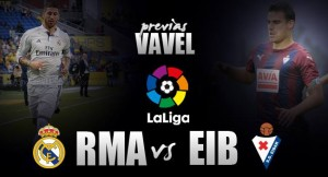 Previa Real Madrid - Eibar: Ganar y no morir en el intento