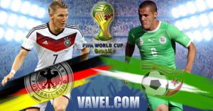 Germany vs Algeria Live Stream and Scores of FIFA World Cup 2014