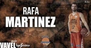 Valencia Basket 2016/17: Rafa Martínez