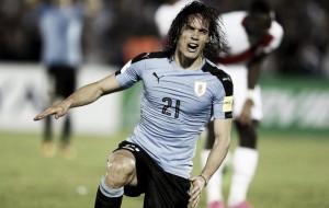 Cavani viaja con Uruguay