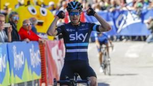 Mikel Landa toma el control en el Giro del Trentino