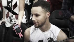 """Stephen Curry: """"Si me encuentro como ahora, lo más probable es que no juegue"""""""