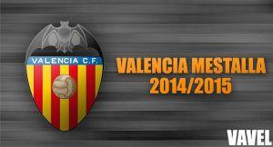 Temporada del Valencia Mestalla 2014-2015, en VAVEL