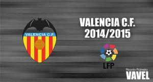 Valencia CF 2014/2015: de Mestalla a Europa con la ilusión de Lim