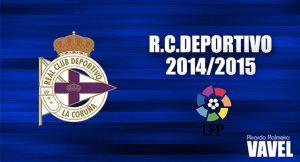 Deportivo de La Coruña 2014/2015: el proyecto de la vuelta a la élite