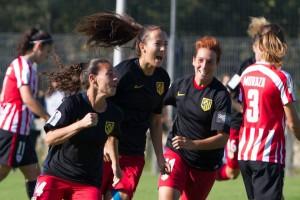 El Atlético Femenino asalta Lezama y presenta su candidatura a la Liga