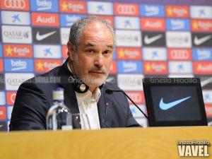 """Zubi: """"Nuestra preocupación es jugar al nivel del Barcelona y ser fieles a nuestro juego"""""""