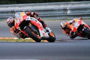 MotoGP, Márquez e Pedrosa concludono tre giorni di test privati a Brno