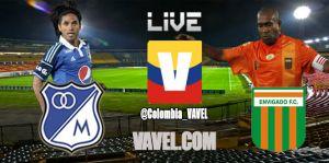 Millonarios vs Envigado en vivo y en directo online en la Liga Postobón 2014