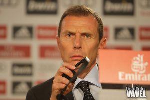 """Butragueño: """"Estamos muy contentos con la labor de Ancelotti"""""""