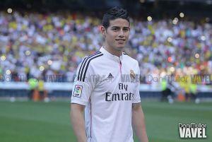 """James Rodríguez: """"El Madrid es un club que siempre presiona para ganar pero estoy tranquilo"""""""