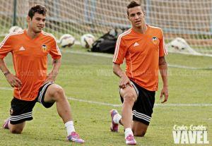 Rodrigo abandona el entrenamiento matinal lesionado
