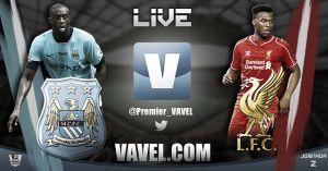 Partido Manchester City vs Liverpool, Premier League en vivo y en directo online