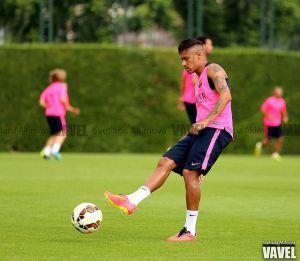 """Neymar: """"Estoy muy feliz por los dos goles"""""""