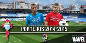 Real Club Celta 2014/2015: portería