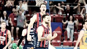 La suerte esquiva al 'Granca' y el Baskonia pasa a semifinales