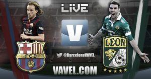 FC Barcelona vs Club León, así lo vivimos